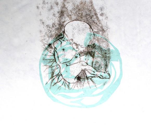 Birth^ ets/kartondruk - 30x40cm