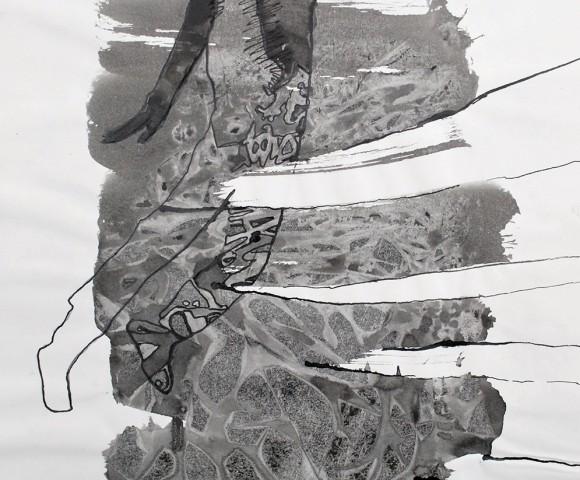 oostindische inkt - 30x20cm
