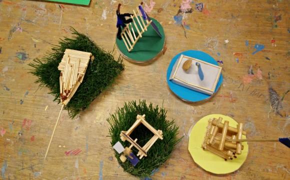miniatuur-landschapjes groep 6